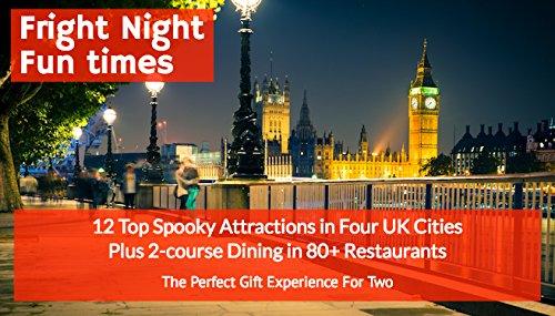 es–12der UK spookiest Sehenswürdigkeiten & 2Esstisch in über 80Restaurants–Das perfekte Geschenk Erfahrung für zwei mit Wahl der 4Städte (Scary Halloween-städte)