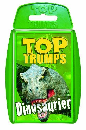 Winning Moves 60017 Dino Top Trumps - Dinosaurier, Trumpfspiel -