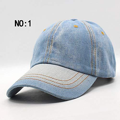POIUIU Baseballmütze Baseballmütze Männer Frauen Caps Marke Homme Hüte FürFrauen Jea