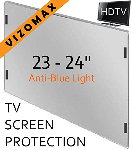 23 - 24 inch Anti-blue Light Vizomax Computer Monitor / TV Screen Protector Filter for LCD, LED & Plasma HDTV