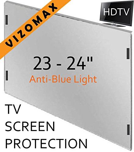 23 - 24 inch Anti-blue Light Vizomax Computer Monitor / TV Screen Protector Filter for LCD, LED & Plasma HDTV