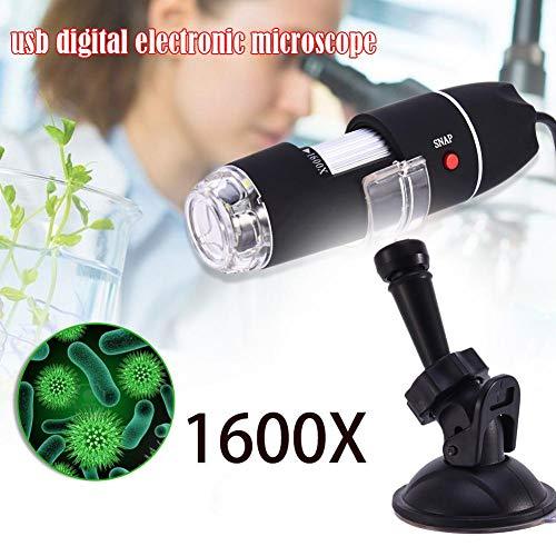 fervory 1600X Portable Mikroskop-2-in-1 USB Portable Mikroskop Digitale Elektronische Erkennung (Portable Usb-mikroskop)