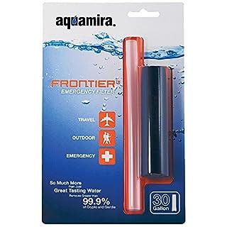 Aquamira aq67109, Water Filter Unisex–Adult, Blue, One Size