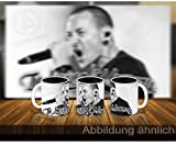 stickerpoint24 Chester Bennington in Loving Memory Linkin Park Tasse Fototasse (Keramikbecher) Bedruckt