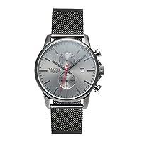 tayroc Hombre Reloj analógico cuarzo acero inoxidable gris txm054 de Tayroc