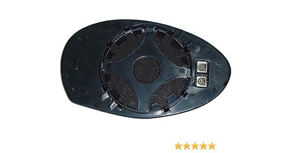 TarosTrade 57-0194-R-45655 Vetro Specchietto Retrovisore Riscaldabile Lato Destro