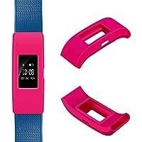 Band Cover Protector für Fitbit Laden 2–ifeeker Weich Silikon Sleeve Fitness Band Schutzhülle Case Zubehör für 2016Fitbit Laden 2Herzfrequenz und Fitness Armband (ohne Tracker, kein Band)