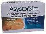 Asystor Slim - schnell natürlich Abnehmen effektiv mit 13 Kräutern, Fettverbrenner, auch unter der Haut - Cellulite, Appetithemmer, Kohlenhydrate blocker, kurbeln Stoffwechsel an, 60 Tabletten