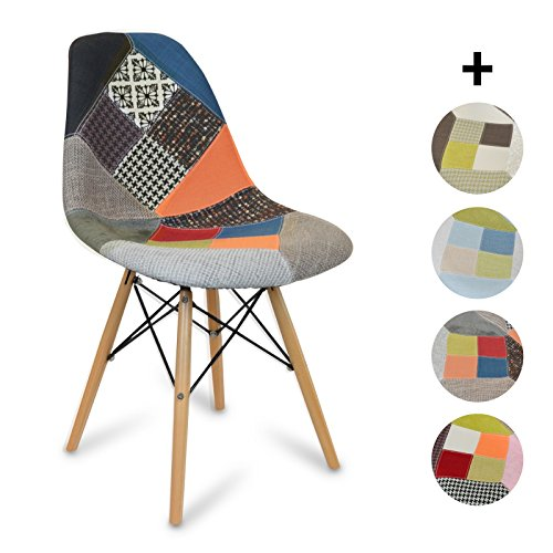 Stuhl Eames DSW style Patchwork Classic - NEW EDITION! - 48 x...