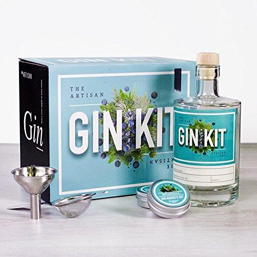 Monsterzeug Gin selbst machen, selbst herstellen, DIY Kit, Eigenproduktion, Alkohol Spirituosen Set, Geschenkbox Ginliebhaber