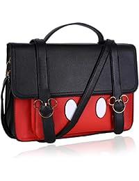 9c3a4363e Bolso de color rojo y negro Mickey Mouse DISNEY