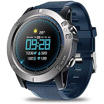 OJBDK Smart Watch Zeblaze Vibe 3 Pro Smart Watch para Hombre Clima ...