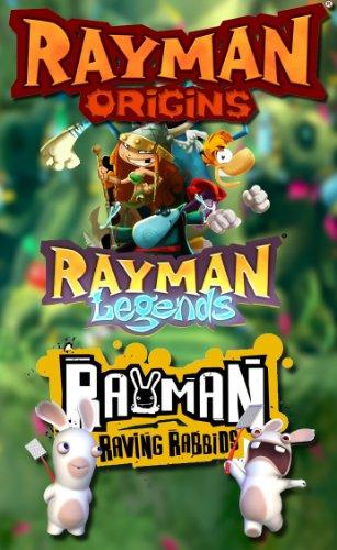Rayman Origins, Rayman Raving Rabbids und Rayman Legends [Bundle]