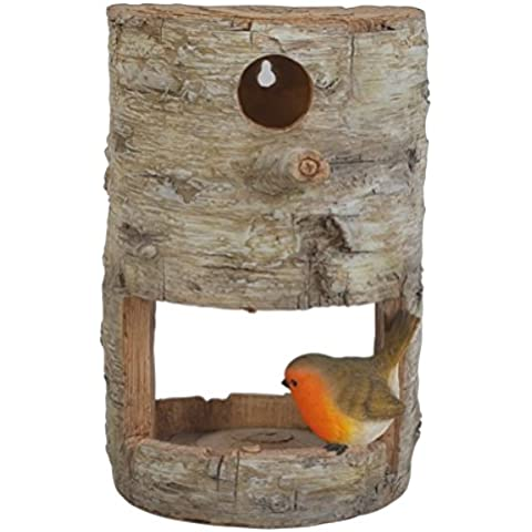 Robin Tree Birds Nest and Feeder - Robin Feeder