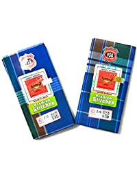Nandu Men's Cotton Stitched Lungi (Mixed Colour, Free Size) - Pack of 2