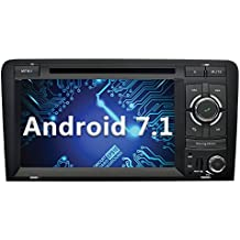 YINUO 7 Pulgadas 2 Din Android 7.1.1 Nougat 2GB RAM Quad Core Pantalla Táctil Estéreo Reproductor de DVD GPS Navegador Multimedia Radio De Coche Para Audi A3 (Autoradio)