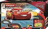 Carrera Disney·Pixar Cars-First, Colore Nero, 2.4 m, 20063010 by Carrera
