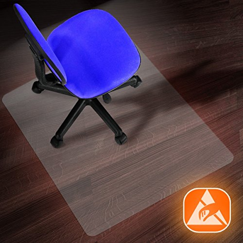 2mm Thick Performa Series Multiple Sizes Floor Protector for Office and Home 75x120cm Office Marshal Anti-Static Hard Floor Chair Mat