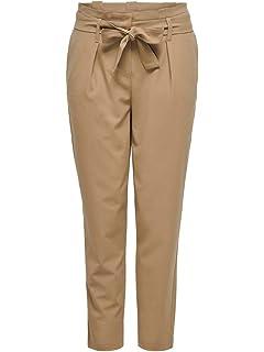 Only Onlnicole Paperbag Ankel Pants Wvn Noos Pantaloni Donna