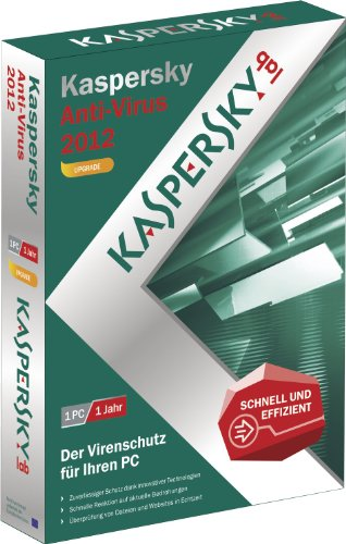 Kaspersky Anti Virus 2012 Upgrade