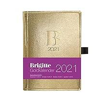 Brigitte Goldkalender 2021 - Buchkalender - Taschenkalender - Lifestyle - 10x14: Taschenkalender, Planner, Organizer