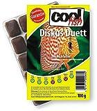 Cool Fish Diskus Duett, 15 x 100g-Blister, Fisch-Frostfutter, Aquarium, Aquaristik, Fischfutter