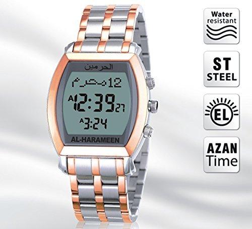 Perfektes Ramadan Geschenk Azan Armbanduhr Islam Uhr Erinnerung Zum Gebet Weltweit