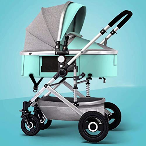 YLLXX Silla de Paseo Cochecito Cochecito de niño Plegable Cochecito de niño High View Hot mom Carriage...