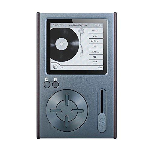 Docooler Colorfly C10 32GB Reproductor de Música HiFi Reproductor de Audio sin Pérdida JZ4760 DSD 2.35 Pulgadas Pantalla Línea de Ssalida Ranura para tarjeta TF