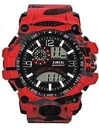 DAYLIN Relojes Deportivos Impermeable Hombre Mujer Marca Correa de Plástico Reloj Digital Militar Sport Reloj Pulsera