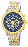 Burgmeister Armbanduhr für Herren mit Analog Anzeige, Automatik-Uhr mit Edelstahlarmband - Wasserdichte Herrenuhr mit zeitlosem, schickem Design - klassische Uhr für Männer - BM327-937 Denver