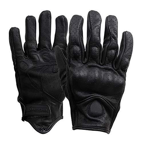 Mmsww guanti da equitazione guanti multiuso outdoor off-road road attrezzature moto bicicletta guanti punch hole nessun buco primavera e autunno,b,l