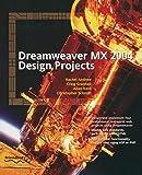 Dreamweaver Mx 2004 Design Projects