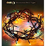 Dinshi Diwali Lights for Home and Outdoor Decoration in Multi Color – 65 LED, 12 Meter Each String
