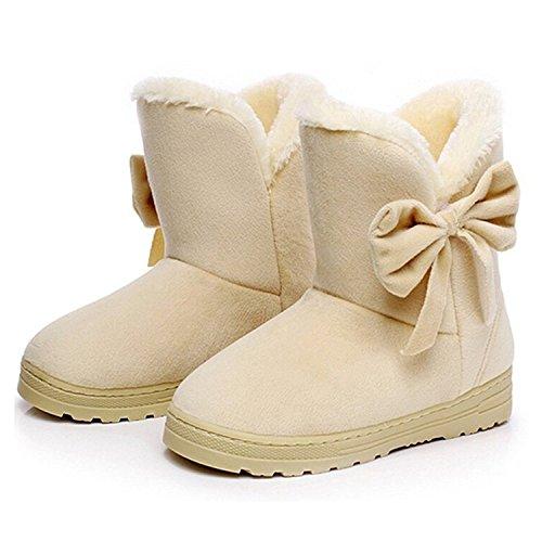 minetom-donna-un-arco-alto-pelliccia-classico-autunno-inverno-neve-stivali-snow-boots-beige-eu-37-
