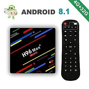 2018-Version-Android-81-H96-Max-4Go-32Go-Smart-TV-Box-4K-Ultra-HD-Botier-TV-avec-RK3328-Quad-Core-64bit-24G-WiFi-100M-Ethernet-H265-3D-HDR-Set-Top-Box