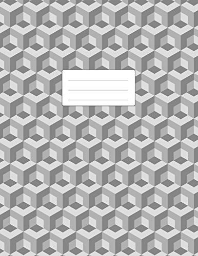 Isometric Graph Paper Notebook: Large Pad 8.5x11 | 110 Pages | Subtle Light Grey Grid | 1/4 Inch Equilateral Triangle | Softcover Book | For 3D Artwork, Game Level Design, Technical Drawing (Graph-pad-11x17)