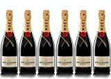 LOT 6 CHAMPAGNES MOËT & CHANDON BRUT MOËT...