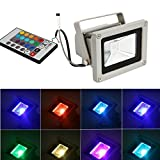 Ascension 6M-SU7Z-00ZZ 10-Watt RGB LED Flood Light (Multicolour)