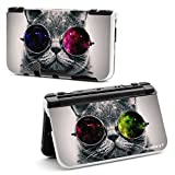 Supremery New Nintendo 3DS XL Case Hülle Kunststoff-Shell Hard Cover - Katze 2