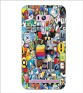 PrintDhaba Graffiti D-4244 Back Case Cover for ASUS ZENFONE SELFIE ZD551KL (Multi-Coloured)