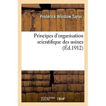 Principes d'organisation scientifique des usines