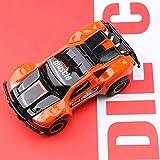 FVYLY 1:24 Mini Electric Drift 4WD Car Racing RC 2.4GHz Auto Telecomando con Guida Porta Illuminazione Simulazione Auto Giocattolo for Adulti e Bambini i Regali (Color : Orange)
