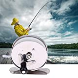Mini Pole Fish Line Wheel Rods Ice Fishing Shrimp Metal Steel Lightweight Portabl