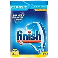 Finish Polvere Classic al Limone, 2 Confezioni da 1.6 kg