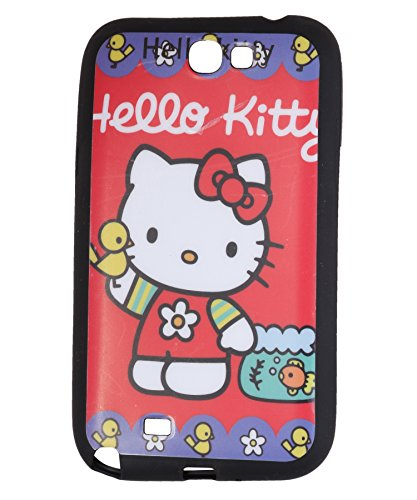iCandy™ Matte Finish Soft Rubber Printed Back Cover For Samsung Galaxy Note 2 N7100 - Kitty  available at amazon for Rs.165