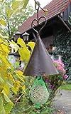 Meisenknödelhalter Metall braun mit Regenschutz