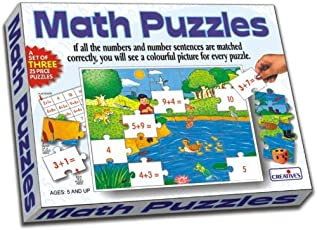Creative Education Aids 0733 Math Puzzles - Addition