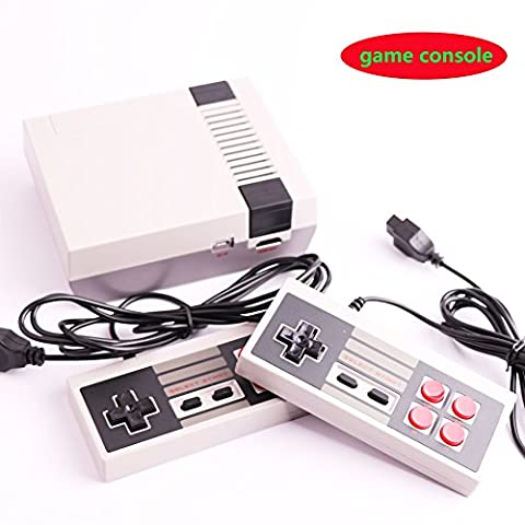Upgrade Retro Games Console with 600 Built in Games Classic HDMI Mini Video Game Machine Dual Control