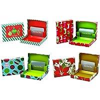 Christmas Gift Card Holder Boxes (Set of 4) by Seasonal Packaging preisvergleich bei billige-tabletten.eu